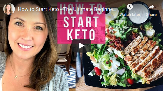 Ashley Salvatori on how to Begin a Keto Diet