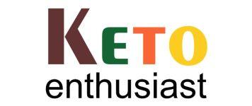 Keto Enthusiast Logo - 356 x 150