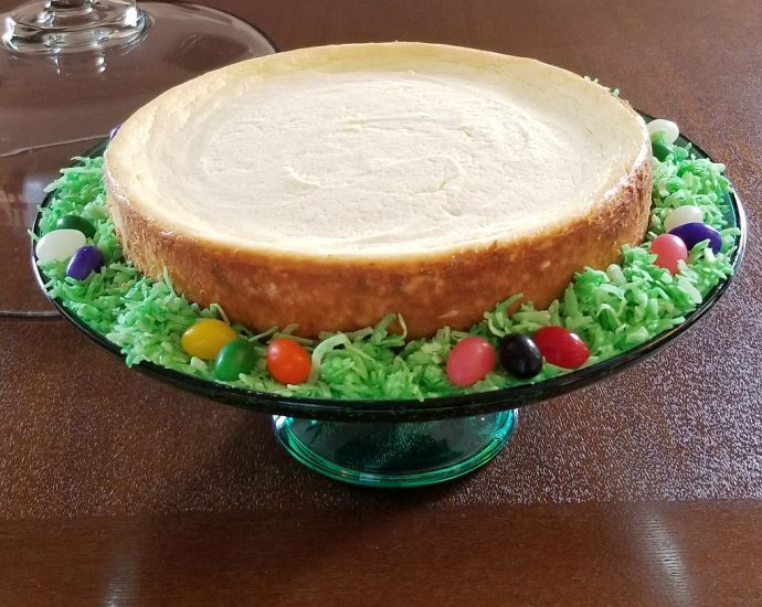 Low Carb Easter Cheesecake