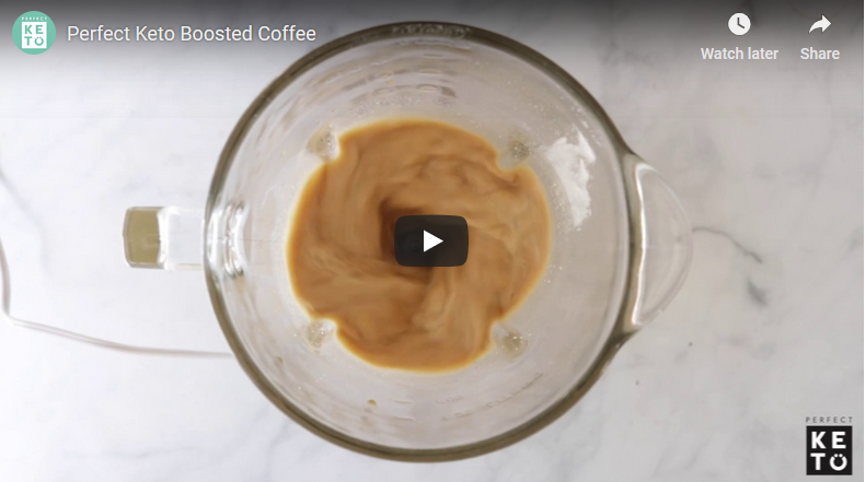 Perfect Keto Boosted Coffee