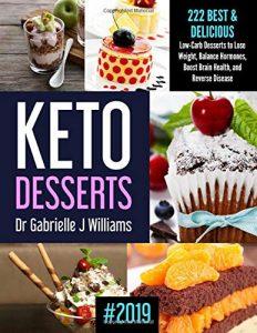 KETO DESSERTS by Dr. Gabrielle J. Williams