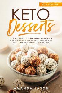 Keto Desserts by Amanda Jason