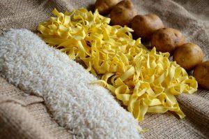 Rice, Noodles/Pasta, Potatoes