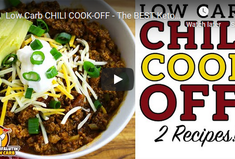 Low-Carb Chili Cook-Off