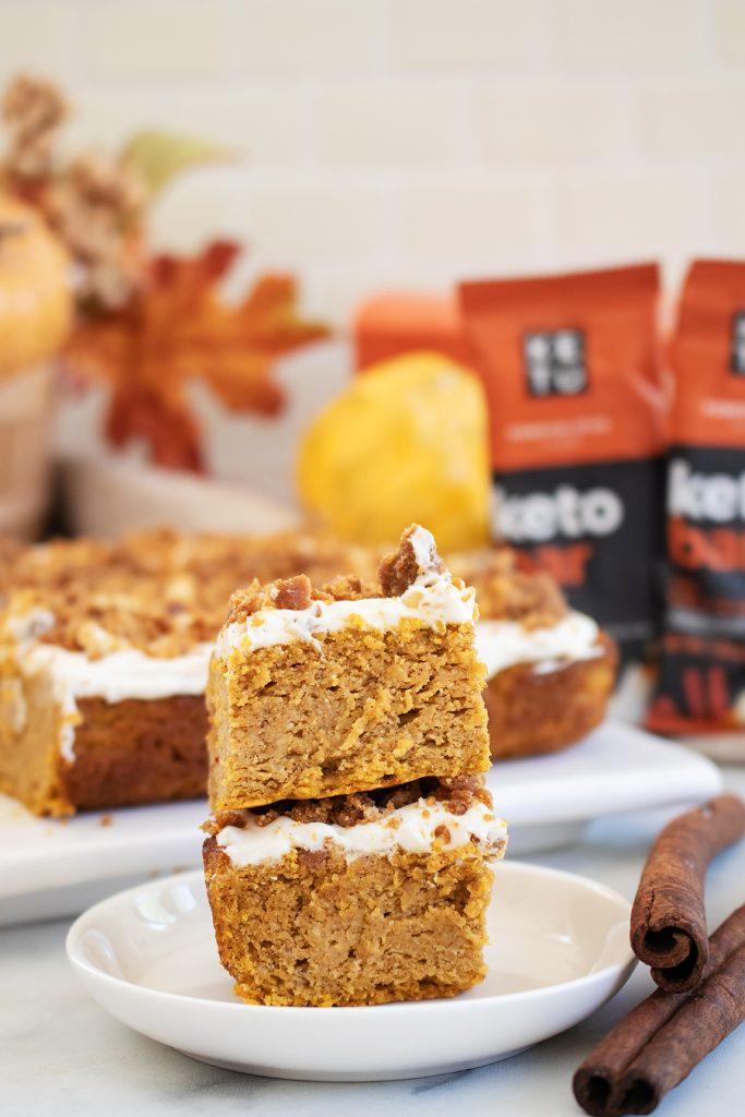 PB Pumpkin Spice Cake