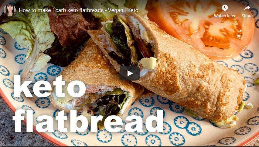 Vegan Keto Flatbread