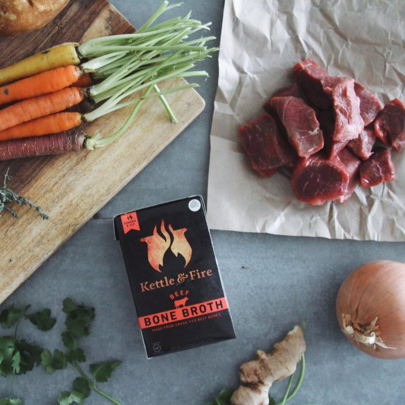 Kettle and Fire Beef Bone Broth